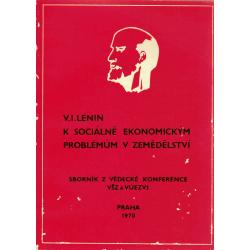K sociálně ekonomickým problémům v zemědělství (LENIN, V. I.)