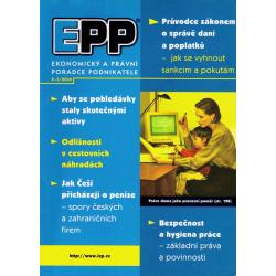 EPP Ekonomický a právní poradce podnikatele 2-3/2000