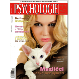 Časopis Psychologie - prosinec 2013